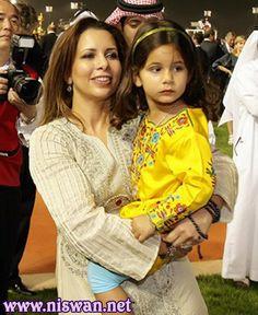 Haya bint Al Hussein y Al Jalila MRM (31/03/2011)