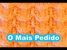PONTO DE TRICÔ PARA BEBÊ #2 - YouTube