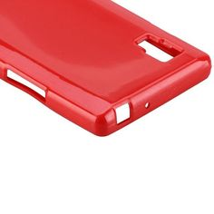 Glitter Shell (Rød) LG Optimus L9 Cover