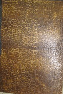How to create this Faux Embossed Gator Skin Finish using a Croc Roller & Venetian Plaster.
