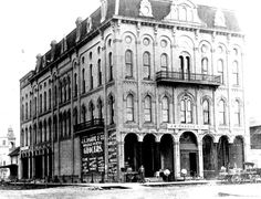 J.K. Sharpe & Sons, Grocery at S. Michigan Ave, Downtown Big Rapids, MI probably about 1900.