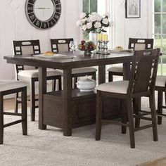 Ophelia & Co. Sinead Dining Table & Reviews | Wayfair Formal Dining Tables, Trestle Dining Tables, Pedestal Dining Table, Solid Wood Dining Table, Extendable Dining Table, Dining Room Table, Table And Chairs, Dining Rooms, Kitchen Dining