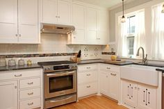 Kitchen Design Trend: Gray Or White Cabinetry
