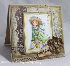 anne of green gables patterns   Handmade, hand-stitched, stamped, Anne of Green Gables Greeting Card