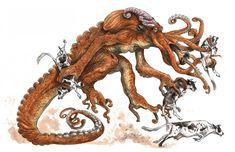criatura de tentáculos