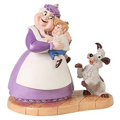 WDCC Mrs. Potts and Chip as Humans Figurine