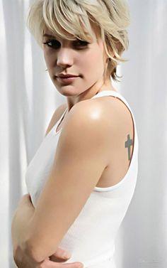 "Katee Sackhoff (""Starbuck"" Kara Thrace), actress from Battlestar Galactica"