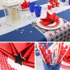 Table US independance day