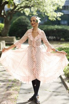 When I am old, I will still wear frilly, girly summer dresses.