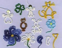 Beginner Tatted Flower   Folded Rings-Rings Don't Have to be Round Anymore