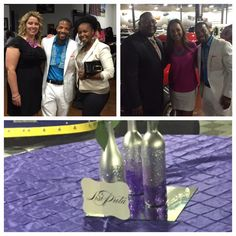 LisiProta at the Clothier Classic golf tournament pairings party.   Proceeds benefit domestic violence awareness.