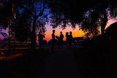 Evening in Albania