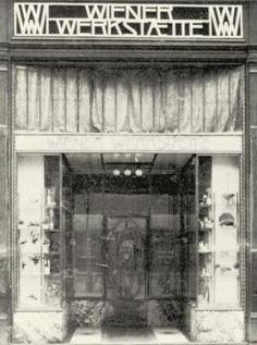 Portal des Geschäftslokals der Wiener Werkstätte, © IMAGNO/Austrian Archives…
