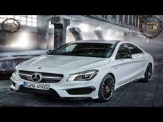 Stock photos Mercedes Benz CLA 45 AMG luxury cars royalty free images