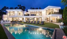 Dream Home Design, Modern House Design, Dream Mansion, Fancy Houses, Chroma Key, Modern Mansion, Luxury Homes Dream Houses, Dream House Exterior, House In The Woods