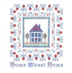 1060-cross-stitch-house.jpg (JPEG resim, 1397×1408 piksel) - Ölçek: %43