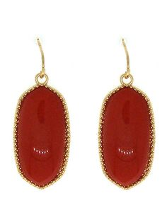 Beautiful Red Statement Earrings Only $15 shipped & gift boxed! #FreeShipping #Earrings