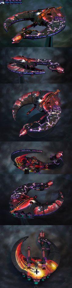 Necron DoomScythe