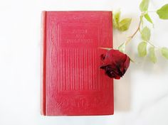 Pride and Prejudice by Jane Austen / Thomas Nelson and Sons, London c.1915 / Blind Stamped Red Boards / Pocket Sized Antique Edition by AllAboutAusten on Etsy