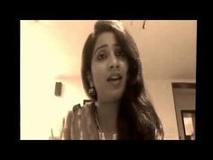 Mere Mehboob Qayamat Hogi - Shreya Ghoshal Singing at home - YouTube