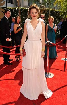 Pin for Later: Leighton Meester's Outfits Have Never Been Better 2009, The 61st Annual Primetime Emmy Awards In Bottega Veneta.
