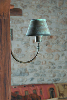 °°° Bermudes °°° Lum'Art wall lamp / applique French Countryside, Staircases, Antique Brass, Entrance, Sconces, Applique, Wall Lights, Indoor, Lighting
