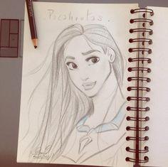 Pocahontas by princekido.deviantart.com on @DeviantArt