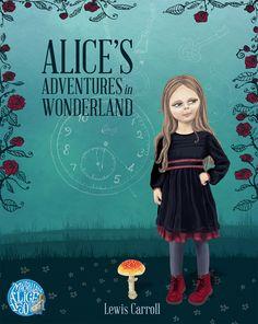 Celeste du Preez Illustration   Portfolio of illustrator Celeste du preez Adventures In Wonderland, Lewis Carroll, Illustrator, Alice, Movies, Movie Posters, Art, Art Background, Films