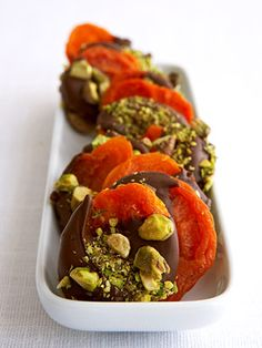 Dried Apricot With Chocolate