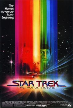 1979 Vintage Movie Poster: Star Trek the Motion Picture