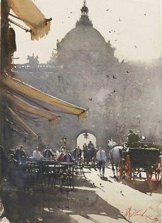 Джозеф Zbukvic австралийский художник.