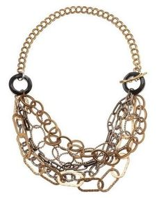 Multi-strand chain necklace - Chain Reaction on CrowdJewel