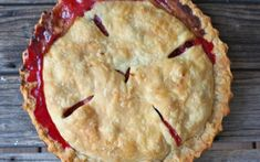 This Evans Cherry Pie is a sour cherry pie recipe that is delicious; includes a Custard Cherry Pie recipe, as well. Raspberry Recipes, Cherry Recipes, Tart Recipes, Dessert Recipes, Fruit Recipes, Yummy Recipes, Sour Cherry Pie, Cherry Tart, Choke Cherry Pie Recipe
