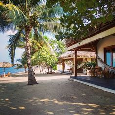 The #Beach Front Casitas at #AlmondBeach Resort in #Hopkins - talk about #barefoot perfect on the #Caribbean Sea. #belize #belizevacationpackages #vacation