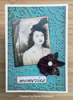ATC by Karen Dimmock using Darkroom Door Photobooth image