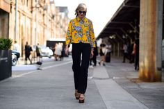Mercedes-Benz Fashion Week Australia Spring 2015 - Mercedes Benz Fashion Week Australia Street Style Day 2-Wmag