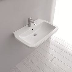 Cheaper elsewhere!!  But this is a good pic. WS Bath Collections Ceramica Valdama Nova Wall Mounted / Vessel Bathroom Sink