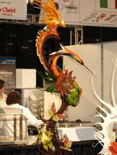 stephane treand chocolate showpiece world champions