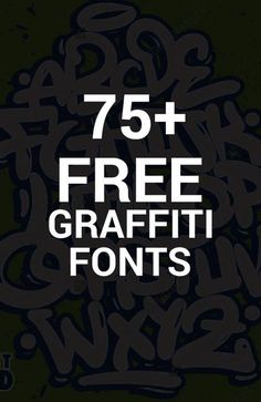Fonts Alphabet Discover 77 Free Graffiti Fonts - the Ultimate list of graffiti fonts & typefaces 75 Free Graffiti Fonts and typefaces Free Graffiti Fonts, Graffiti Lettering Fonts, Graffiti Words, Tattoo Lettering Fonts, Graffiti Tagging, Graffiti Drawing, Graffiti Styles, Lettering Design, Typography