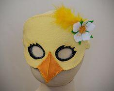 Lil' Chick Mask PDF Pattern van oxeyedaisey op Etsy