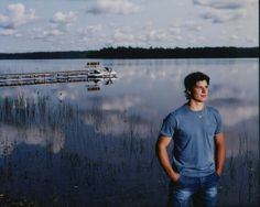 Sidney Crosby <3 This photo looks like he was a character on Dawson's Creek! :)