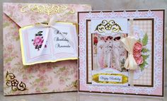 Victorian Ladies Card