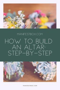 How to build an altar: step-by-step with tools and tips.