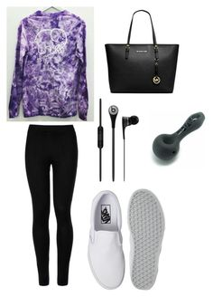 """""""school Monday"""" by vintage6739 on Polyvore featuring Wolford, Vans and Michael Kors"""