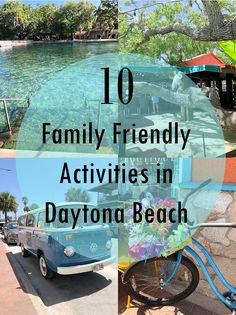 10 Family Friendly Activities in Daytona Beach Florida 10 Family Friendly Activities in Daytona Beach Florida Beach Vacation Tips, Best Island Vacation, Beach Vacation Rentals, Florida Vacation, Florida Travel, Florida Beaches, Beach Trip, Vacation Ideas, Beach Vacations