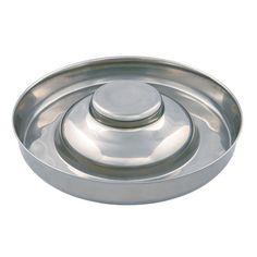 Dieser Welpenfutterring hat ein Volumen von 4 Litern. Der extra große Durchmesser von ca. 38 cm bietet ausreichend Platz für mehrere Welpen. - www.romneys.de