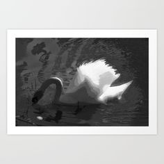 White beauty Art Print by msalazar Beauty Art, Art Prints, Nature, Painting, Art Impressions, Naturaleza, Painting Art, Paintings, Nature Illustration