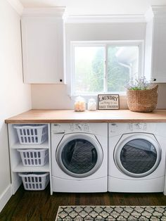 Laundry Room Remodel, Laundry Decor, Small Laundry Rooms, Laundry Room Organization, Laundry Room Design, Organization Ideas, Laundry Closet, Laundry Storage, Storage Ideas