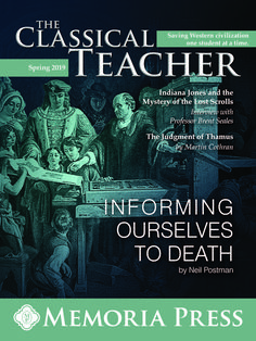 Check out our latest edition of The Classical Teacher!