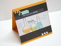 Our Bond Card by Danielle Flanders for Papertrey Ink (December 2012)